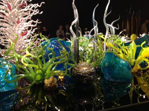 Chihuly glass sea garden