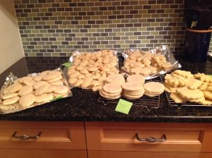 5 recipes of sugar cookies before decorating