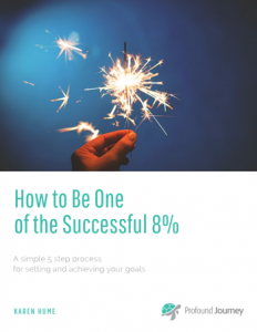 Cover of e-Book, How to be one of the successful 8%.