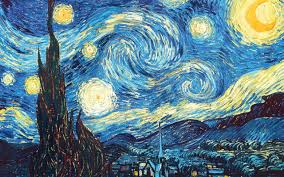 Van Gogh Painting Starry Night