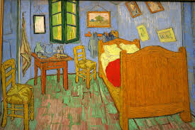 Van Gogh painting of bedroom