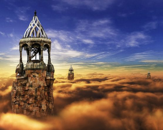 dream interpretation-towers in the sky