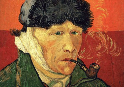 vincent van gogh self portrait mutilated ear
