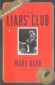 Book cover- The Liar's club