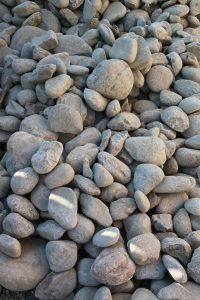 pile of gray stones and rocks