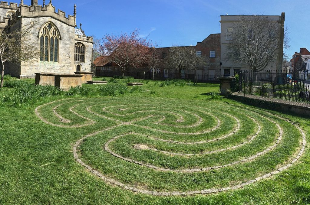 grass labyrinth