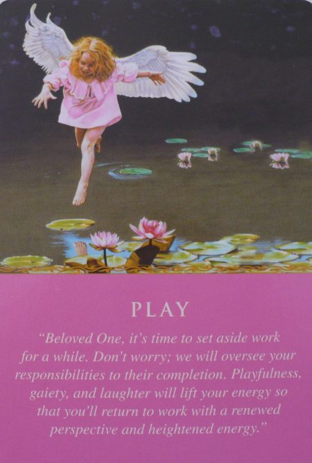 oracle card for play