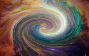 galaxy swirl in various colours