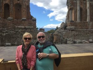 Sizzling Sue Loncaric and husband