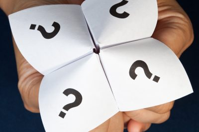 question game in adult hands