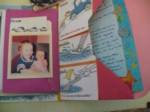 sample pages of envelope journal